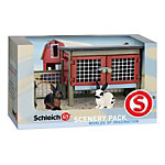 Schleich® Rabbit and Hutch Figure Set