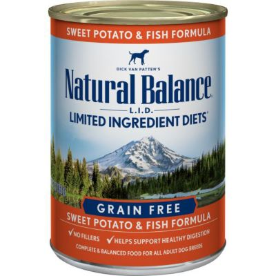 Natural balance l i d limited ingredient diets fish for Natural balance dog food sweet potato and fish