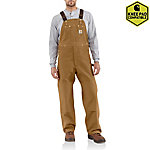 Carhartt® Men's Unlined Duck Bib Overalls