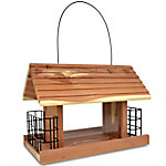 Royal Wing Cedar Snack Shack Feeder