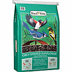 Royal Wing Grey Striped Sunflower Wild Bird Food, 20 lb