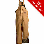 C.E. Schmidt Men's Duck Quilt-Lined Insulated Bib Overall