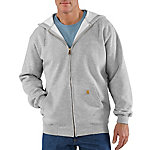 Carhartt® Men's Mid-Weight Hooded Zip Front Sweatshirt