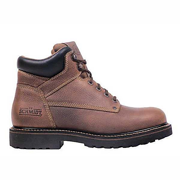 c e schmidt s 6 in soft toe work boot