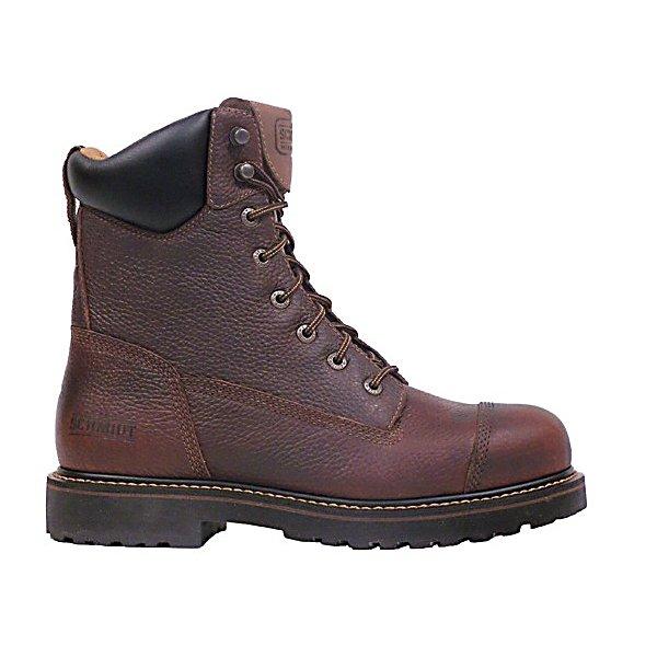 c e schmidt men s 8 in steel toe work boot jabox