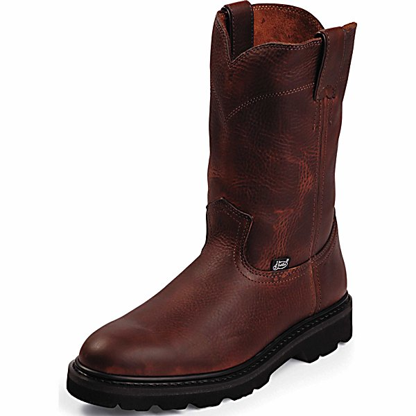 Justin Original Workboots Men S Premium Leather 10 In