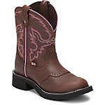 Justin Ladies' Gypsy Collection 8 in. Pull-On Boot, Aged Bark Brown