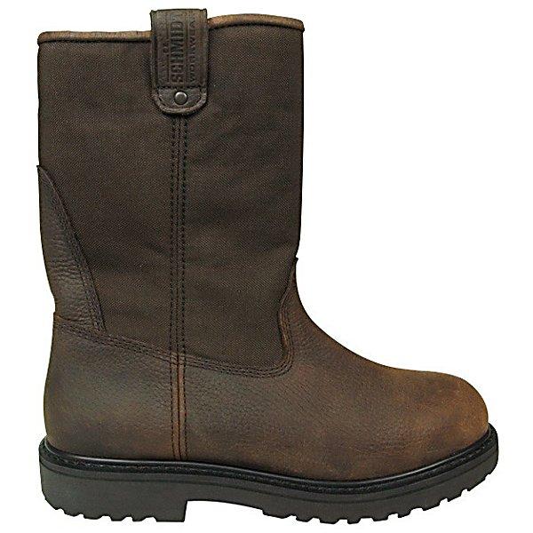 c e schmidt s wellington steel toe work boot 10 in h