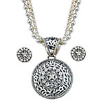 Montana Silversmiths Ladies' Round CZ Concho Jewelry Set