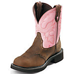 Justin Ladies' Gypsy Collection 8 in. Pull-On Boot, Bay Apache Brown