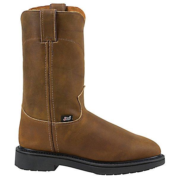 Justin Original Workboots Ladies 10 In Pull On Boot