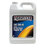Traveller® Premium All Fleet 15W-40 Diesel Engine Oil, 1 gal.