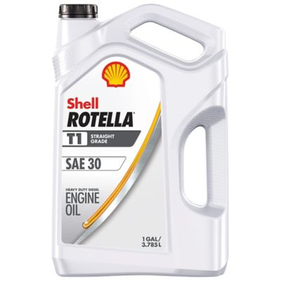 Shell Rotella T4 >> Shell ROTELLA T1 SAE 30 Motor Oil, 1 gal. at Tractor Supply Co.