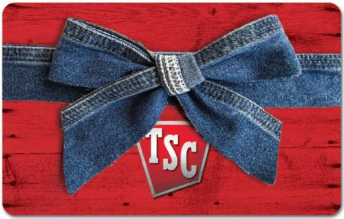 $50 TSC gift card - Tractor Supply Co.