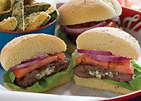 Blue Burger Barbeque