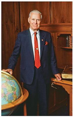 Dr. Norman E. Borlaug, of Cresco, Iowa