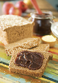 Great Wheat Bread with Crock Pot Apple Butter