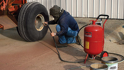 Abrasive blasting rig - Tractor Supply Co.