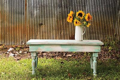 Faux farmhouse finish table