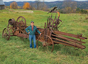 Antique Farm Equipment Spring 2009 Out Here Magazine Tractor