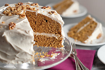 Autumn Gold Pumpkin Cake