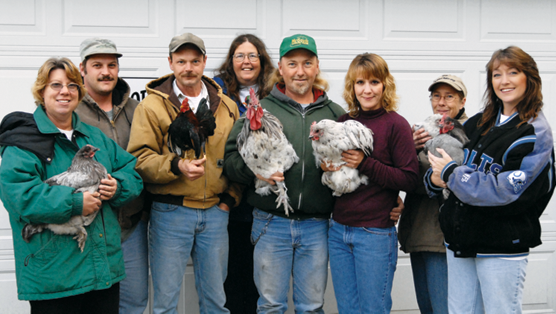 the Indiana Chickenstock group