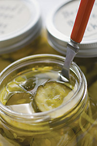 Microwave Bread & Butter Pickles