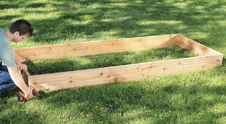 Build A Raised Bed Garden In 10 Easy Steps