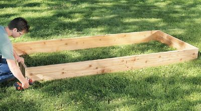 Build a Raised Bed Garden in 10 Easy Steps Gardening Tractor