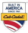 Built in America since 1961. Cub Cadet.