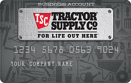 Financing And Credit Cards  Tractor Supply Co