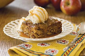 Caramel Apple Brownies