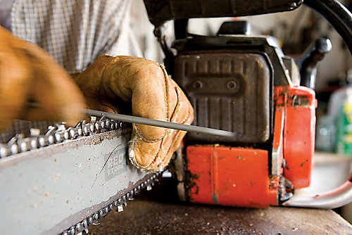 Saw Sharpening Service : How to care for and maintain a chainsaw tractor supply co