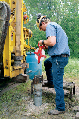 maintenance and quality test of a private well