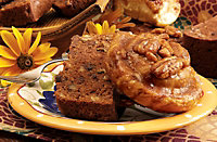 Chocolate Zucchini Bread and Caramel Sticky Cinnamon Rolls