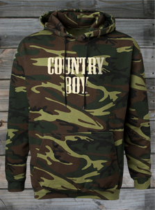 Country Boy Hoodies