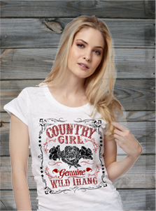 Country Girl Short Sleeve Tees