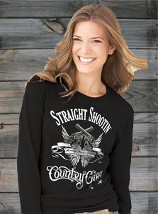 Country Girl Long Sleeve Tees