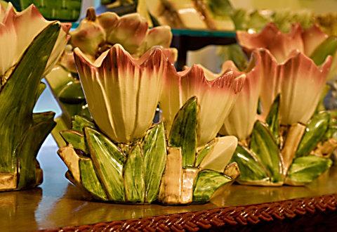 McCoy petal vases