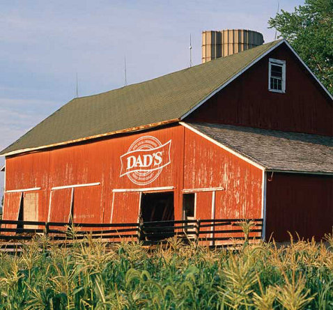dad's red barn