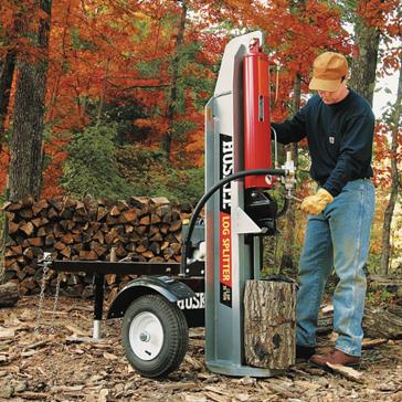 powered log splitter
