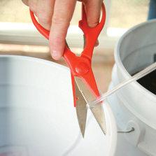 cut the tubing