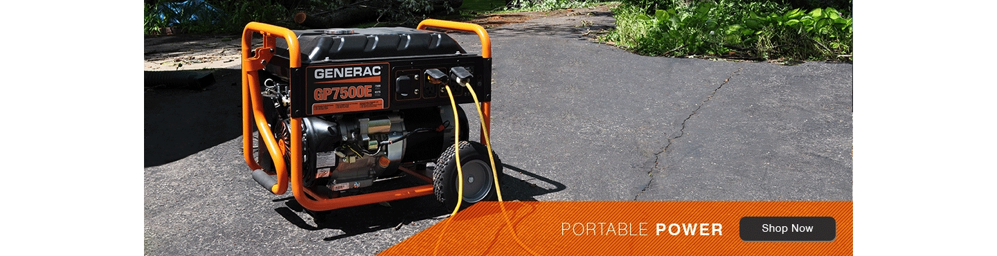 Generac Standby and Portable Generators | Tractor Supply Co