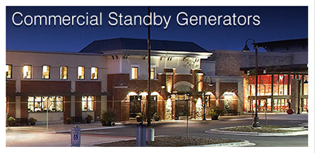 COMMERCIAL STANDBY GENERATORS