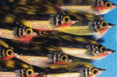 'Whit Hair Bug' fishing flies