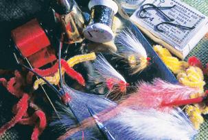 varies tools for tying flies