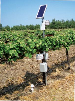 a crop irrigation wireless monitor