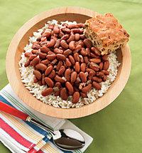 Grandma's Red Beans & Rice with Georgia Corn Bread