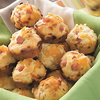 Ham-And-Cheese Muffins