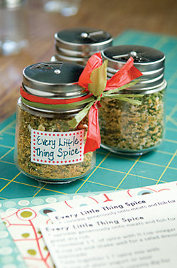 jars with Every Little Thing spice